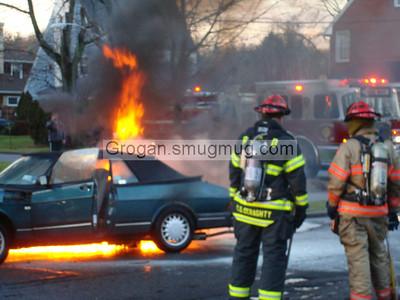 Car Fire 1/11/08
