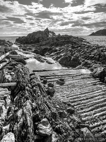 Making Headway    Black and White Photography by Wayne Heim