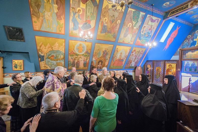 Memorial service for Fr. Tom Hopko