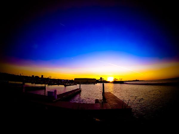 Whiskey Island Sunset One