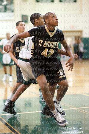 St. Anthony's Vs Holy Trinity, Boys Freshman Basketball 01.03.10