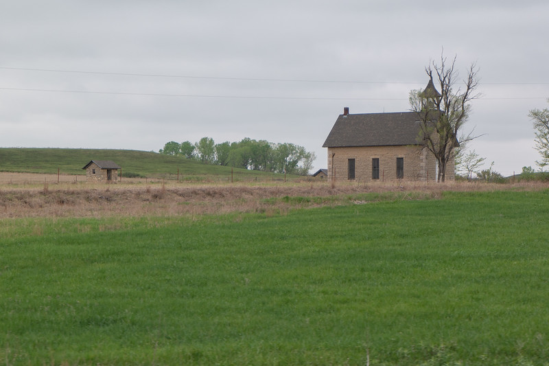 Old Kansas School or Church