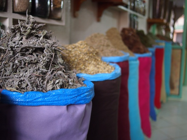 Spices aplenty in the Medina