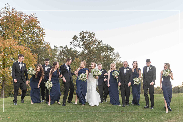 Alluring autumn wedding at Bay Oaks Country Club in Houston Texas