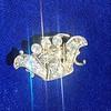 1.52ctw Victorian Diamond Crown Motif Clasp 16