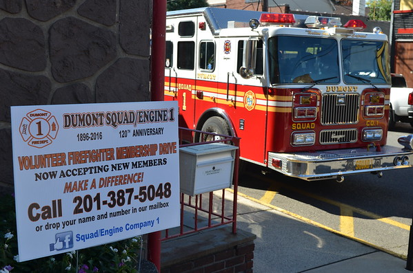 Dumont, NJ Fire Department Engine 1/ Squad 1