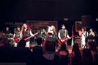 2015.03.21. - Cherokee a Crazy Mamában