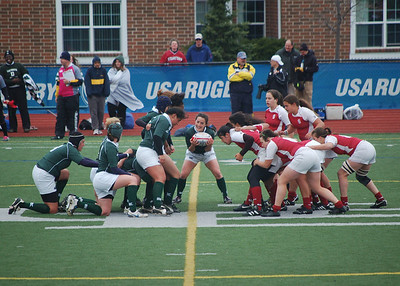 Women's Rugby Action