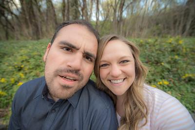 Ashlee and Dan memory Grove