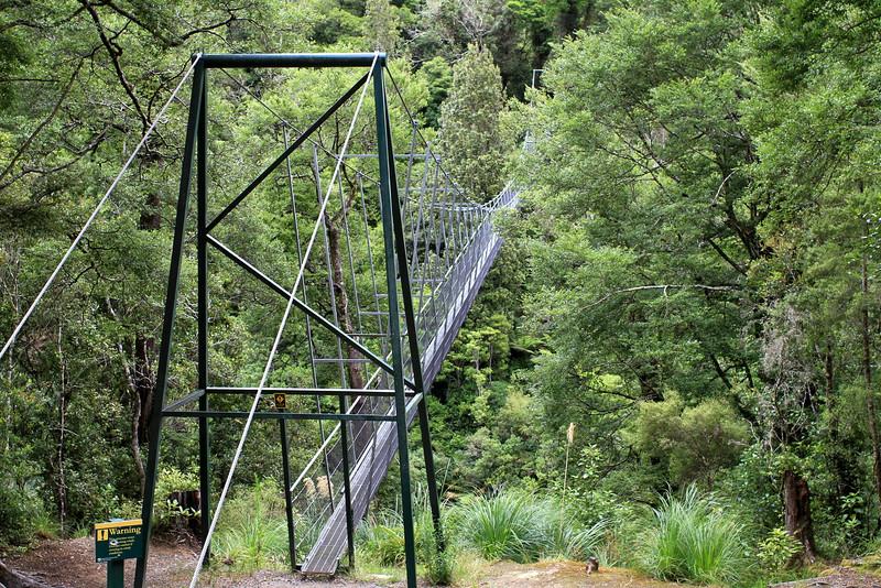 First swingbridge