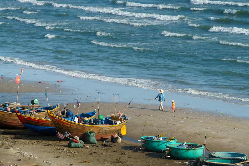 Colorful slice of life around Mui Ne Beach.