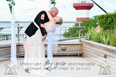 Mr. and Mrs. Kroemer say I DO take TWO!