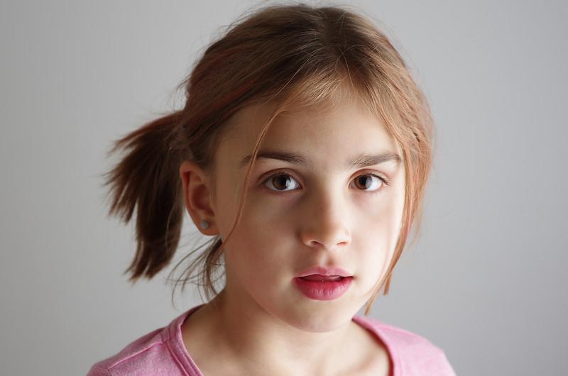 Anya portrait #1.