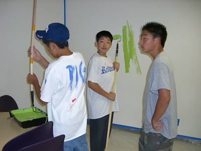 2005.09.16 Fri - CCSV new building painting and move-in