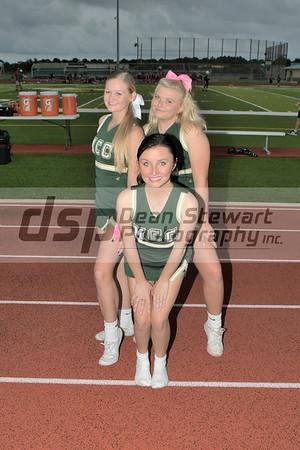 Varsity Football and Cheerleading 10.18.19