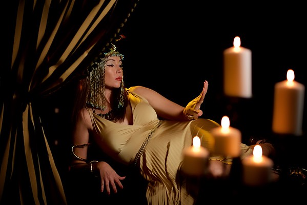 Cleopatra Styled Shoot