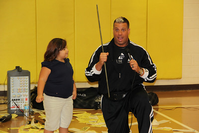 Anit-Bully Speaker, World Record Holder, Rush Elementary School, Hometown (9-25-2012)