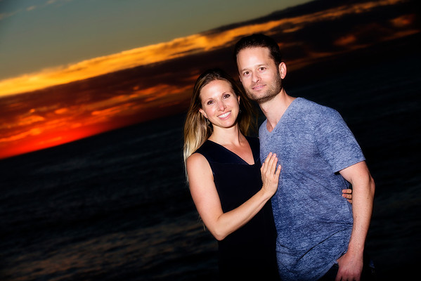 Laura & Jason in La Jolla