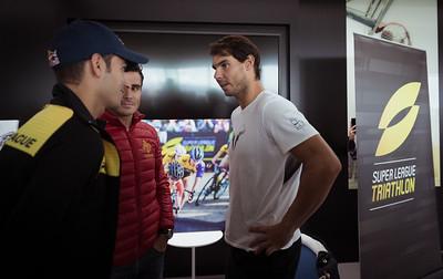 Rafa Nadal Meets the Athletes