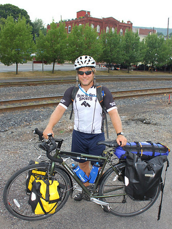 Around America for Cancer, Sam Davenport, Tamaqua (7-24-2011)