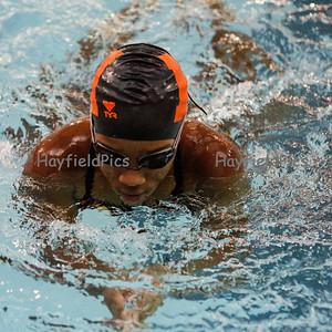 Girls Swim Yorktown 12/14/13