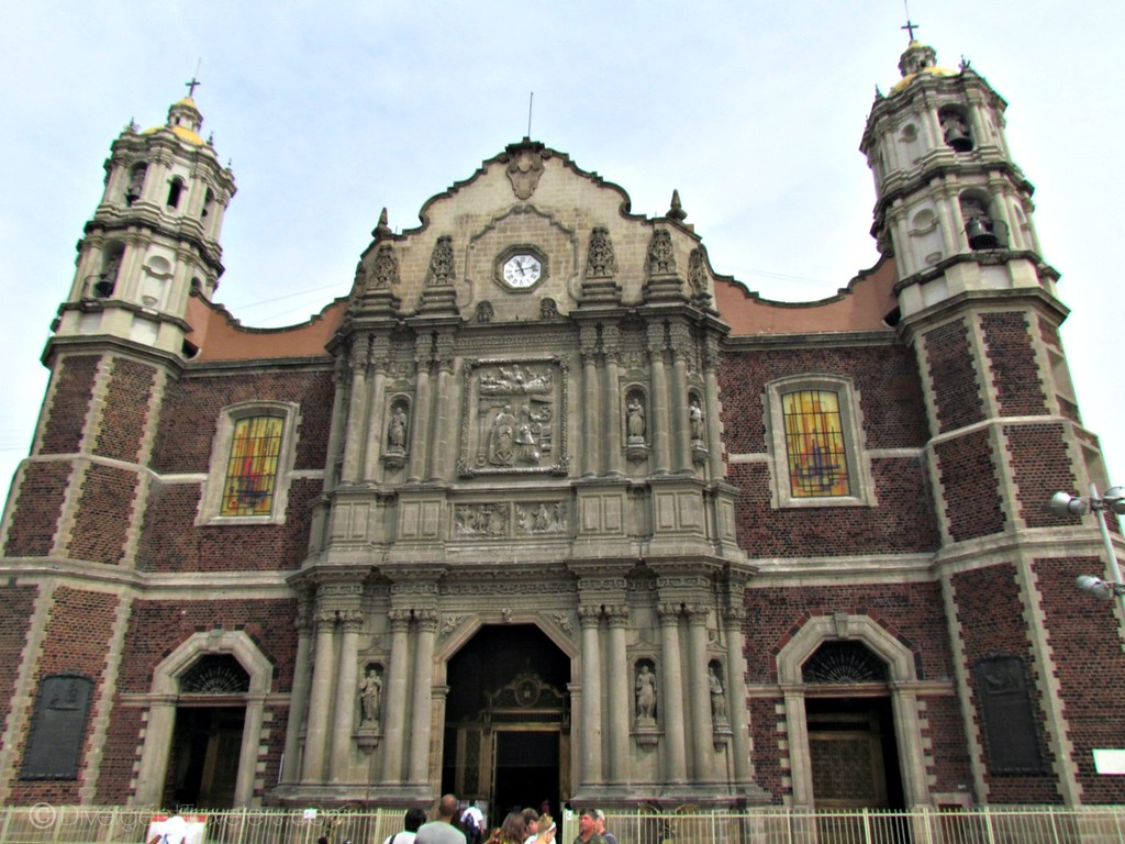 Shrine to the Virgin of Guadalupe in Mexico City