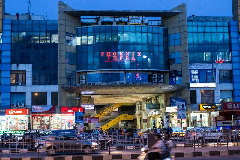 Shopping Center in Indore.