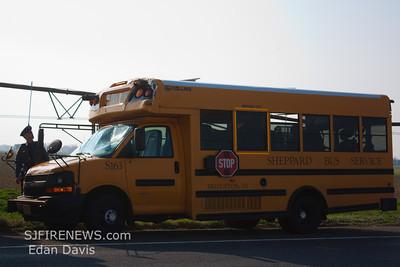 03-22-2012, School Bus MVC, Upper Pittsgrove Twp. Salem County, Rt. 77