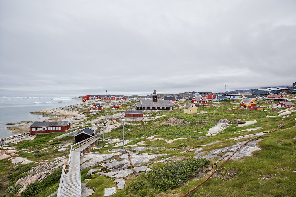 Ilulissat Greenland - Old Town - Lina Stock