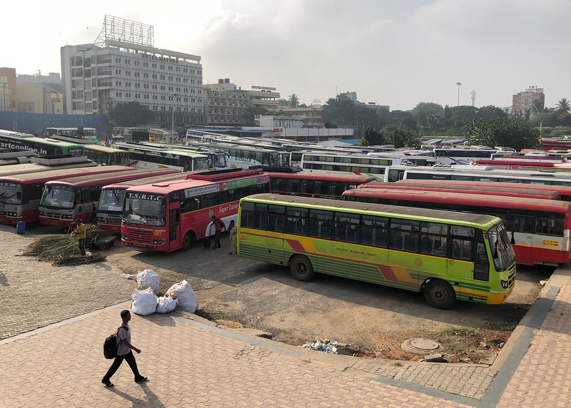 Majestic Bus Stand