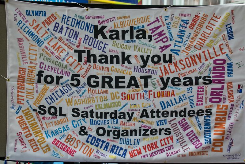 Farewell and Thanks to Karla