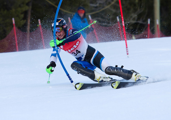 Ski Racing - FIS Spring Series - Men's Slalom - Panorama - April 1, 2012