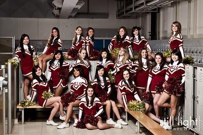 Mills Highschool Cheerleading