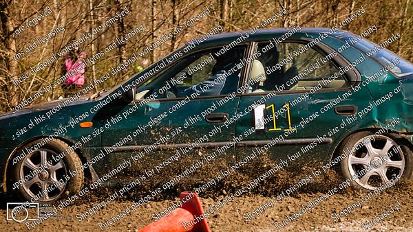 11-111 Green Subaru Sedan