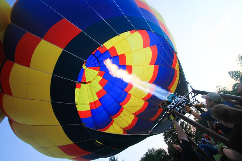 Balloon Glow, Cedar Rapids, Iowa
