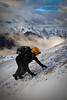 """Last Climb"" IV, East end of Mount Rundle, Alberta, Canada."