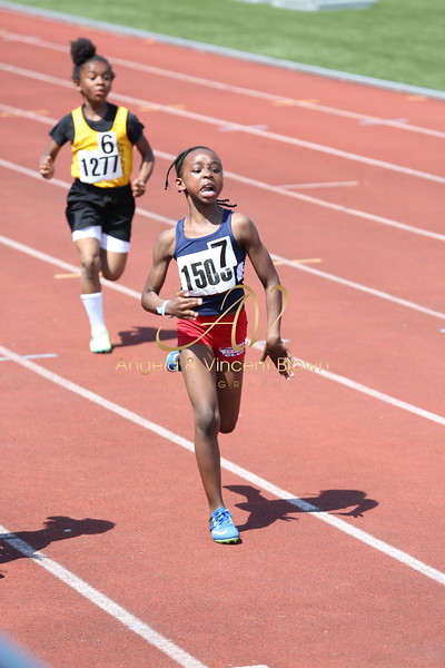 2017 AAU DistQual: 8 and Under Girls 100m