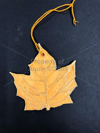 leaves . jewelry . self-portraits . 11.30.18