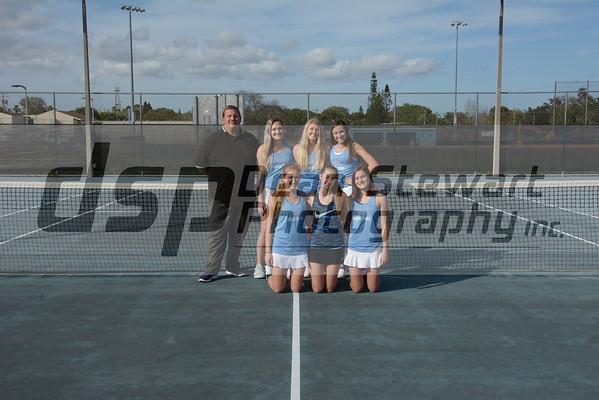 Girl's Tennis 2-14-19