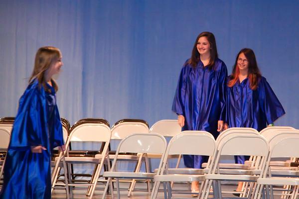 Tori's Middle School Graduation