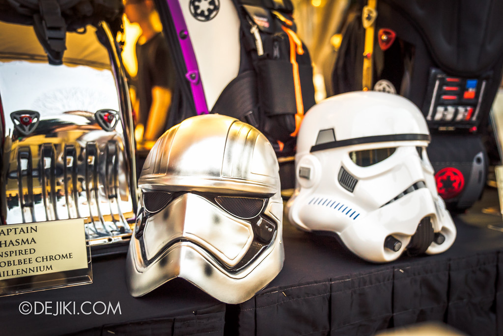 Gardens by the Bay - Star Wars Day 2017 - Fan Art Exhibition Helmets