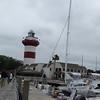 Lighthouse at Harbor Town on Hilton Head Island.