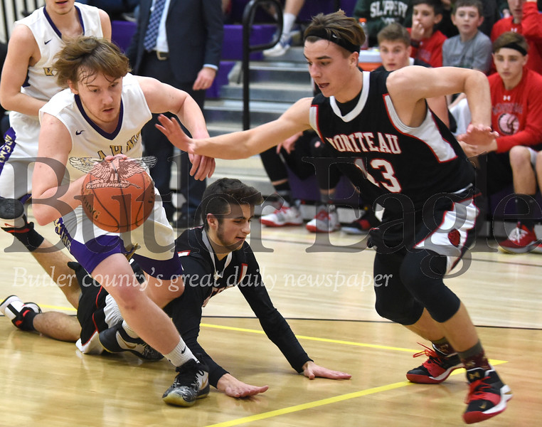 82476 Moniteau vs Karns City District 9  Boys Basketball game at Karns City