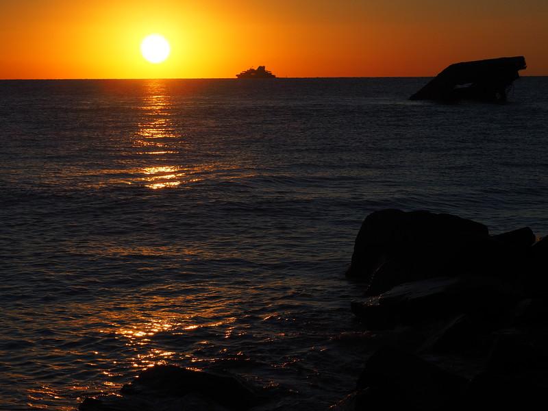 Cape May Ferry sunset 2.JPG