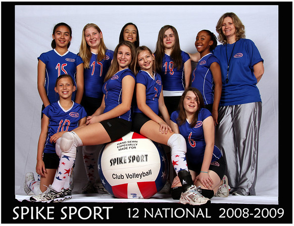 Spike Sport Volleyball 2009