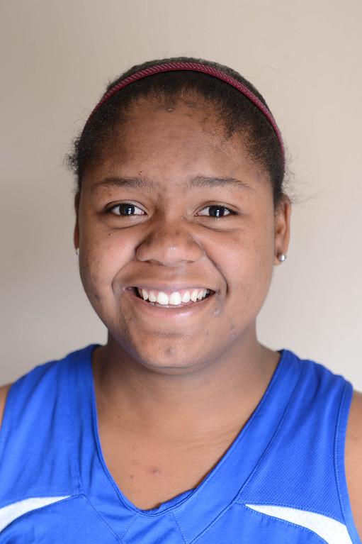 . Michelle Curry #15 St. Bernard Lady Vikings gbb. Photo by BRad Graverson 12-4-12