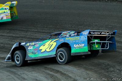 Grandview Speedway August 18, 2012