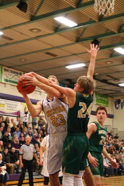 Basketball Boys Varsity vs. Hackett - KCHS - 1/12/18