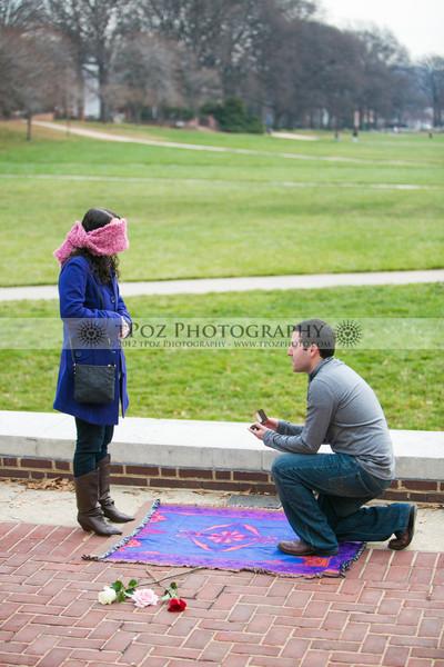 Surprise Proposal :: Jared+Stephanie
