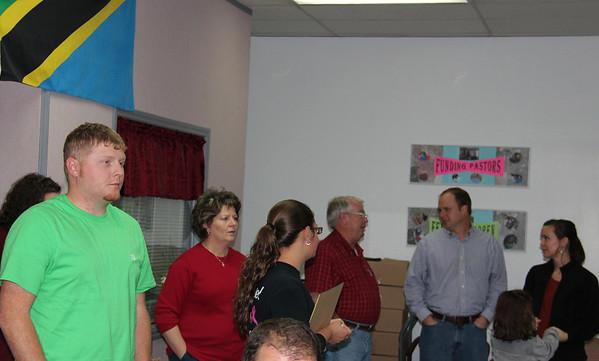 2013,  Bowden Baptist hosts 2 parties